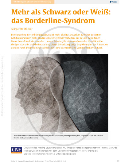 Borderline-Syndrom - Thieme Verlag